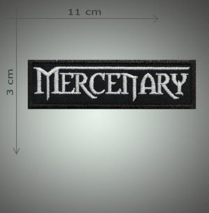 Mercenary embroidered patch