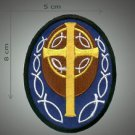 Cross 1 embroidered patch