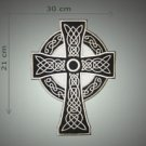 Only cross embroidered patch