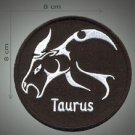 Taurus embroidered patch