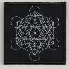 Sacred geometry 2 embroidered patch