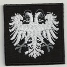 Double head eagle embroidered patch