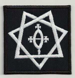 Star of Babylon embroidered patch