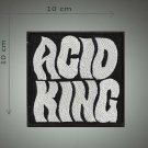 Acid king embroidered patch