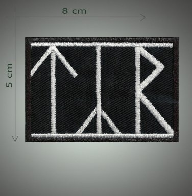 Tyr embroidered patch