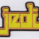 Jedi knight embroidered logo patch