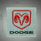 Dodge - embroidered patch, 2,8 X 2,8 (INCHES)