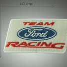 Ford Racing team - embroidered patch, 2 X 4 (INCHES)