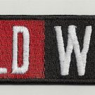 Wild wolf - embroidered patch, 1,4 X 4,8 (INCHES)