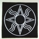 Sumerian Anunaki symbol - embroidered patch, 3,2 X 3,2 (INCHES)