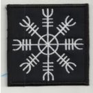 Helmowave - embroidered patch, 3,2 X 3,2 (INCHES)