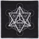 Metatron - embroidered patch, 3,2 X 3,2 (INCHES)