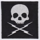 Death proof - embroidered patch, 3,2 X 2,4 (INCHES)