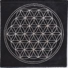 Flower of life full - embroidered back patch, 11,2 X 11,2 (INCHES)