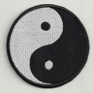 Ying and Yang - embroidered patch, 3,2 X 3,2 (INCHES)
