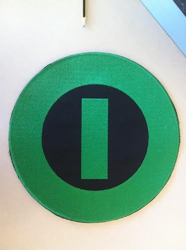 Type o negative - embroidered back patch, 11,2 X 11,2 (INCHES)