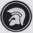 Troyan - embroidered patch, 3,2 X 3,2 (INCHES)