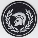 Troyan wreath - embroidered patch, 3,2 X 3,2 (INCHES)