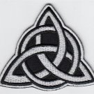 Triquetre - embroidered patch, 3,2 X 2,8 (INCHES)