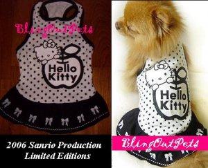 Hello Kitty Dog Cat  Dress Clothing