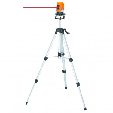 Self Leveling Laser Level Kit W Tripod & Case 360 Degrees Rotation
