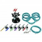 Professional 6 color airbrush kit NEW