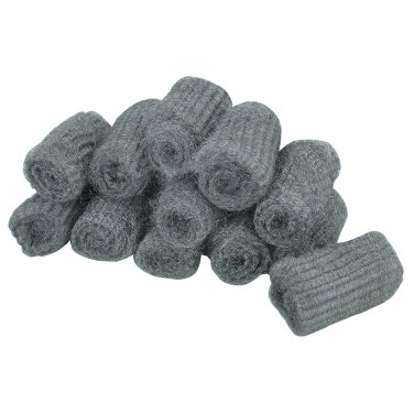 Lot of 12 extra fine steel wool pads