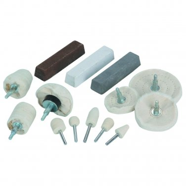 14 Piece Aluminum Polishing Kit