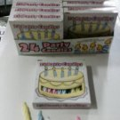 Display Box of Birthday Candles 4 colors