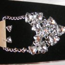 Bridal Triangle Rhinestone Necklace