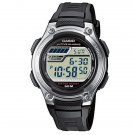 CASIO W212H-1A MENS MIDSIZE SPORTS WATCH 50M 5- ALARMS DUAL TIME STOPWATCH