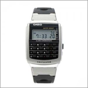 CASIO CA56-1 MENS CLASSIC DIGITAL 8-DIGIT CALCULATOR WATCH ALARM CHRONOGRAPH
