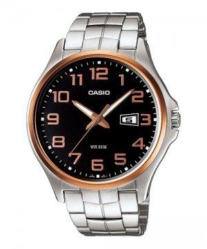 1av mens 50m stainless steel modern dress watch large numbers