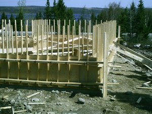 How To Build Cement Basement Foundation Forms Plans 4 House Garage Shed