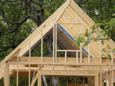 Plans How To Frame A Wood Rafter Gable Roof Shed House