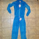 Women's Blue/Aqua Sweatshirt Hoodie and Sweat Pants Outfit Size Medium