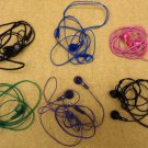 batch of 6 malfunctioning jvc earbud headphones