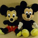 Disney Mickey Mouse Dolls Qty 2