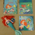 Little Golden Book Disney Little Mermaid Doll
