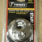 Trimax TRP170 Stainless Steel Disk Storage Lock A