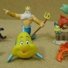 Disney Little Mermaid Toys Set of 7