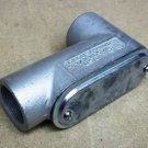 Crouse-Hinds LB57 Conduit Outlet Body 1 1/2in Steel