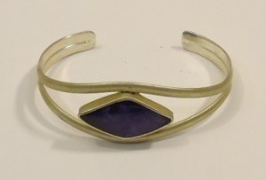 Cuff Bracelet Royal Purple