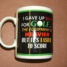 Golf Coffee Cup