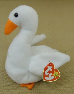 Ty Beanie Baby Gracie Swan Handmade Original Tag