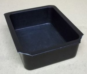 Bon Chef Food Pan Half Size 3 1/2in Deep
