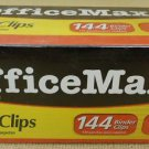 Office Max Small Binder Clips (3/4 in. size,  5/16 in.