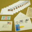 Collection USA Stamp Postcards and Envelopes
