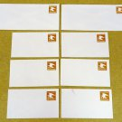 U594, C U.S. Postage Envelopes qty 8