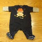 Small Paul Footed Pajamas Boy 3m Cotton 46795